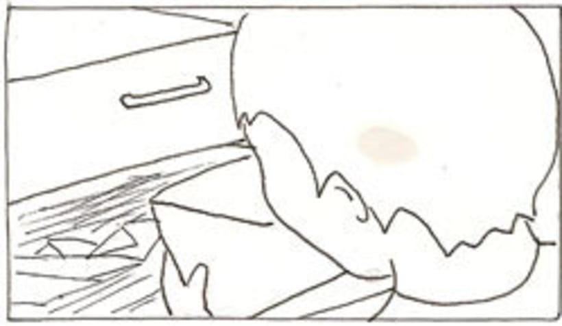 Amateurs, storyboard de la película 71