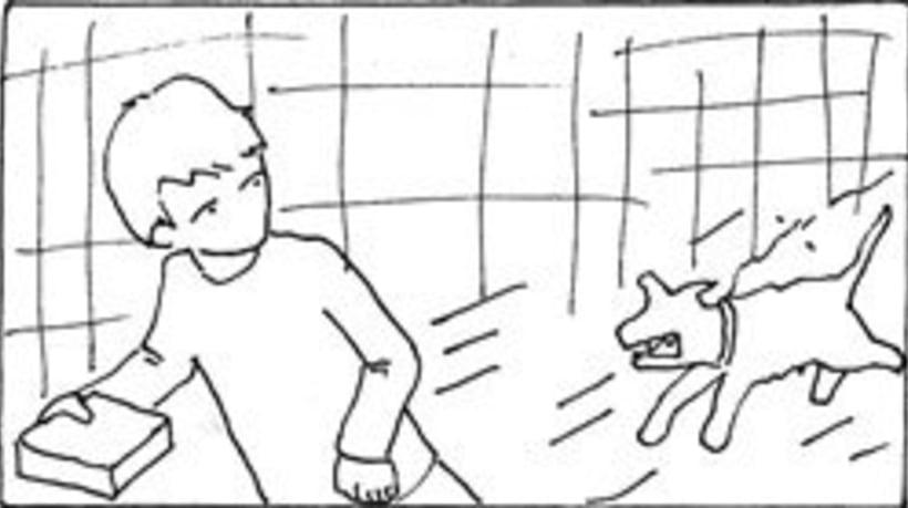 Amateurs, storyboard de la película 69