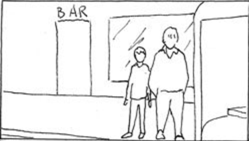 Amateurs, storyboard de la película 64