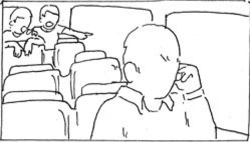 Amateurs, storyboard de la película 62