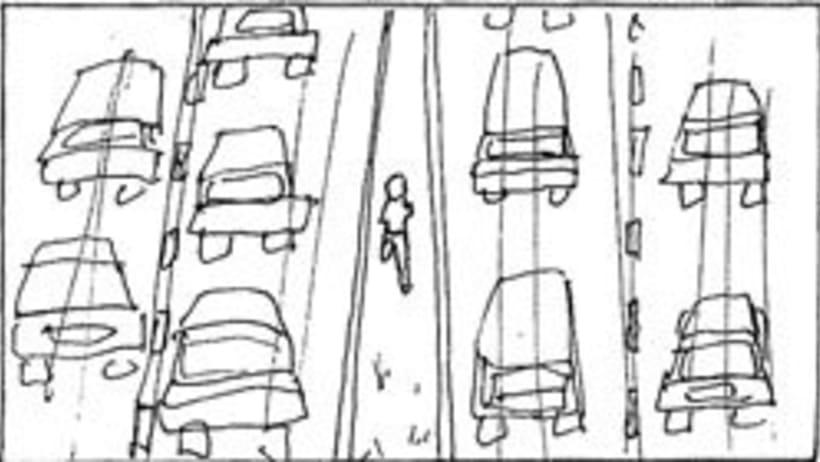 Amateurs, storyboard de la película 56
