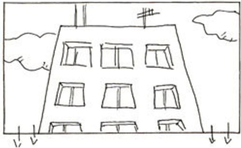 Amateurs, storyboard de la película 55
