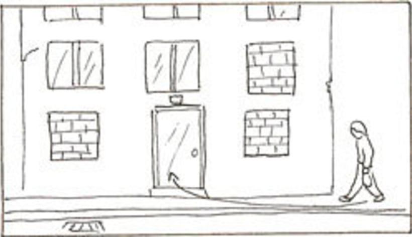 Amateurs, storyboard de la película 52