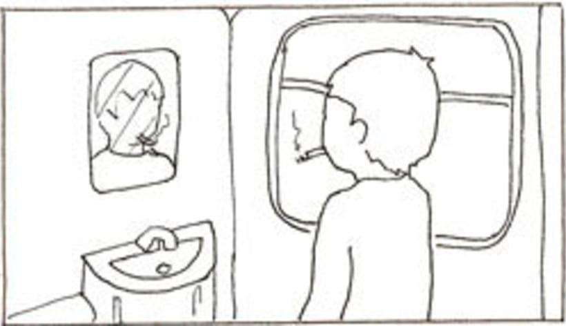 Amateurs, storyboard de la película 49