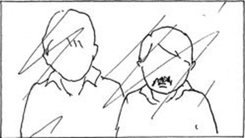 Amateurs, storyboard de la película 45