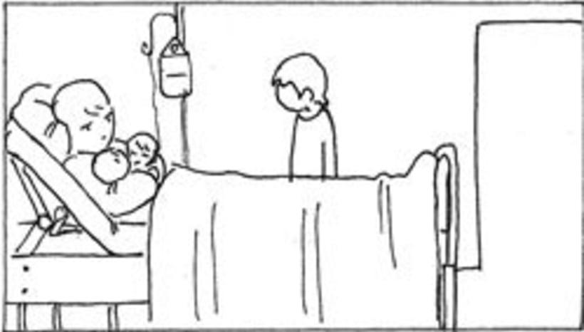 Amateurs, storyboard de la película 40