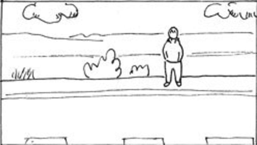 Amateurs, storyboard de la película 34