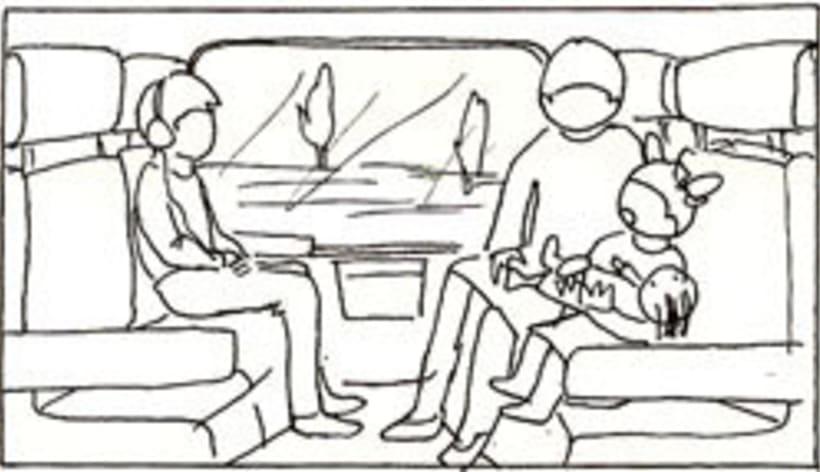 Amateurs, storyboard de la película 30