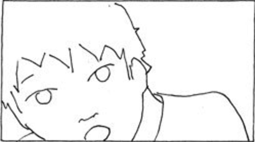 Amateurs, storyboard de la película 28