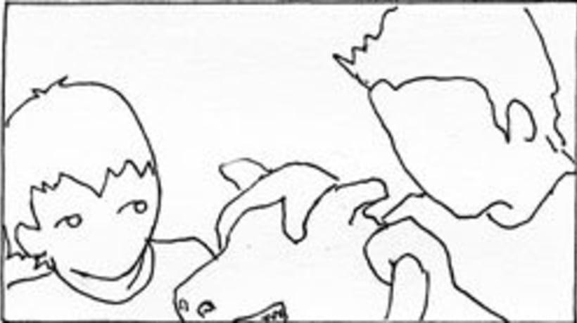 Amateurs, storyboard de la película 27