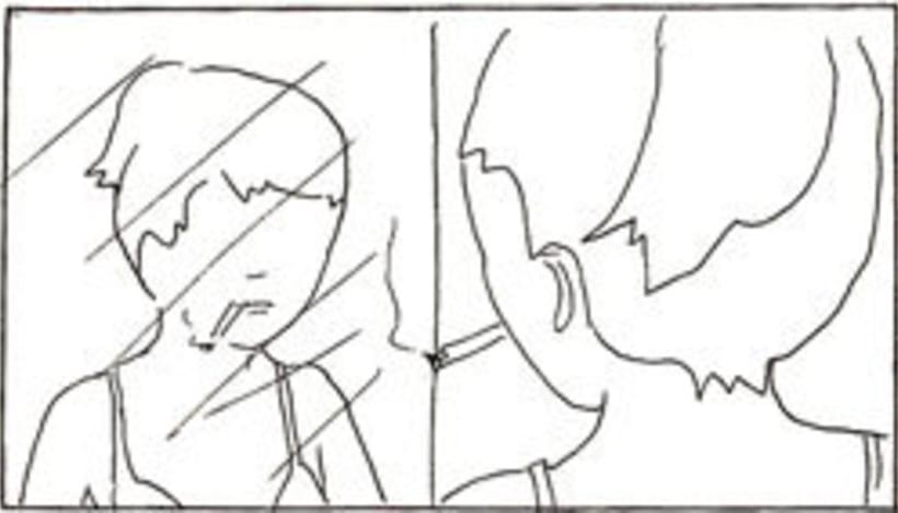 Amateurs, storyboard de la película 24