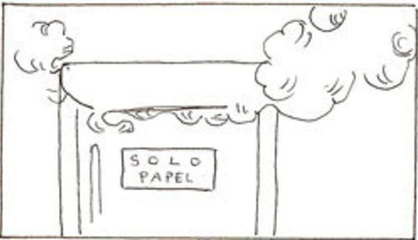 Amateurs, storyboard de la película 22