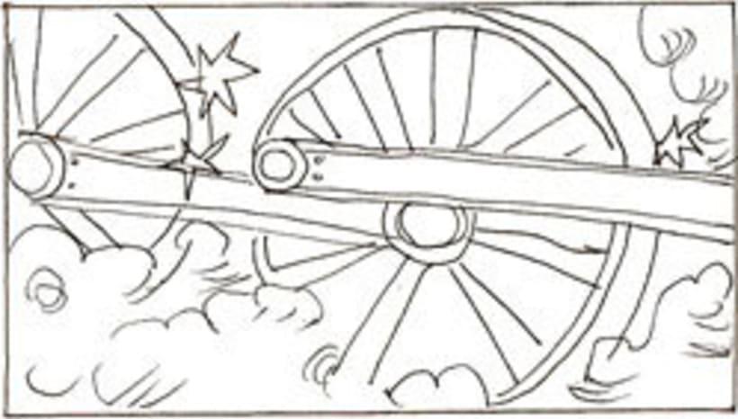 Amateurs, storyboard de la película 21