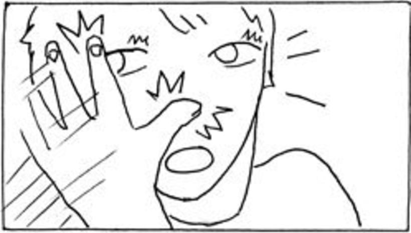 Amateurs, storyboard de la película 19