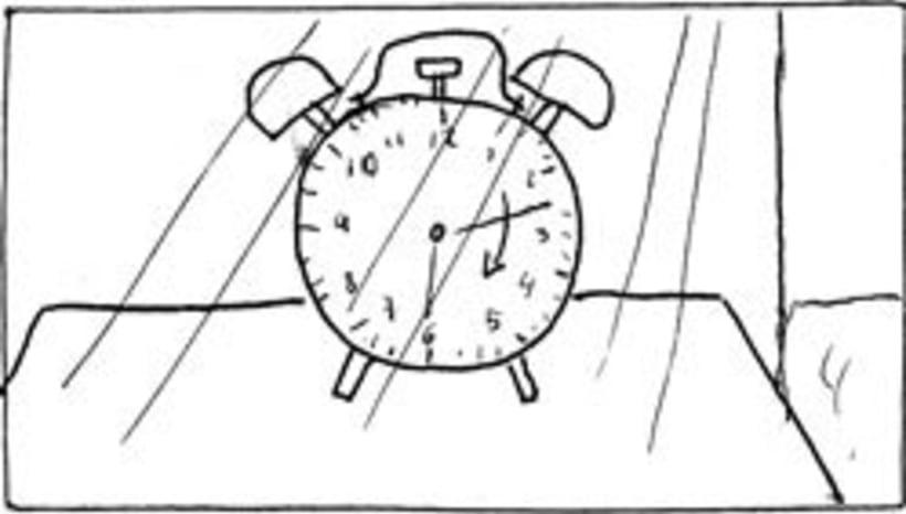 Amateurs, storyboard de la película 14