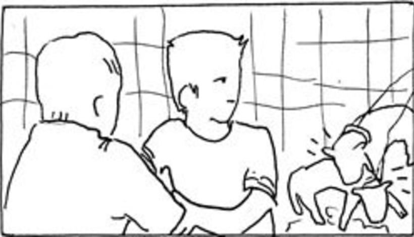 Amateurs, storyboard de la película 9
