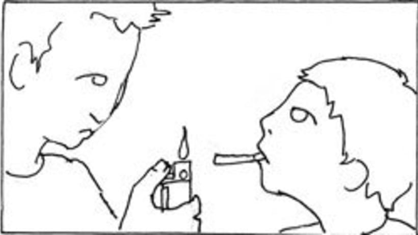 Amateurs, storyboard de la película 2