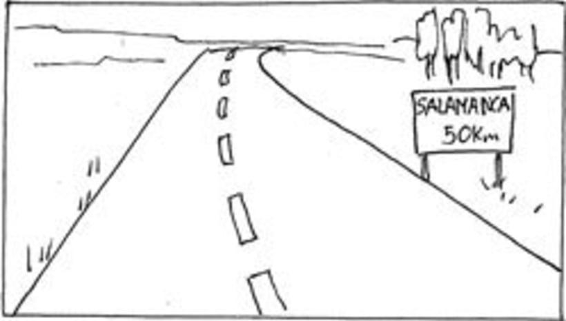 Amateurs, storyboard de la película 1