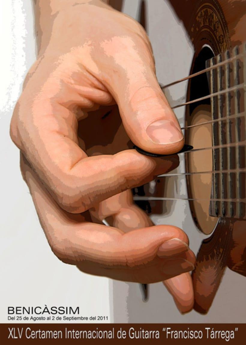 Propuesta cartel Certamen de guitarra de Benicàssim 2