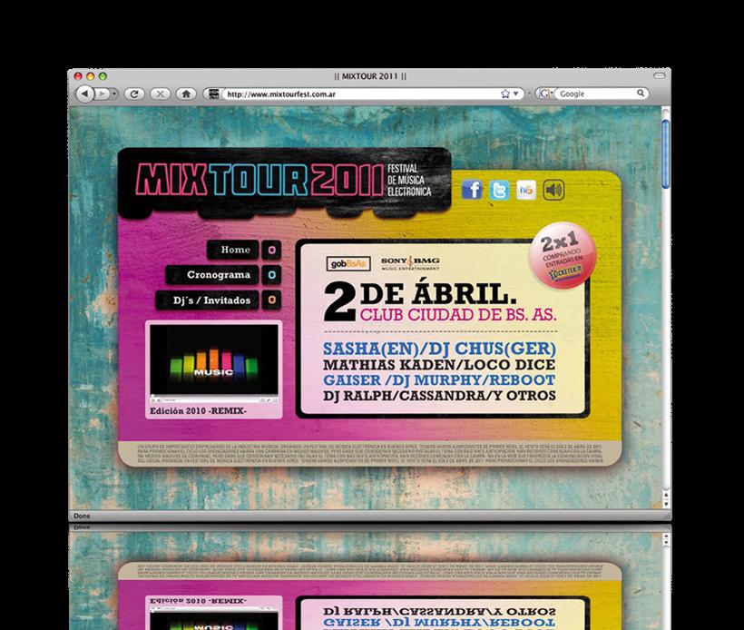 Mix Tour 2011 1
