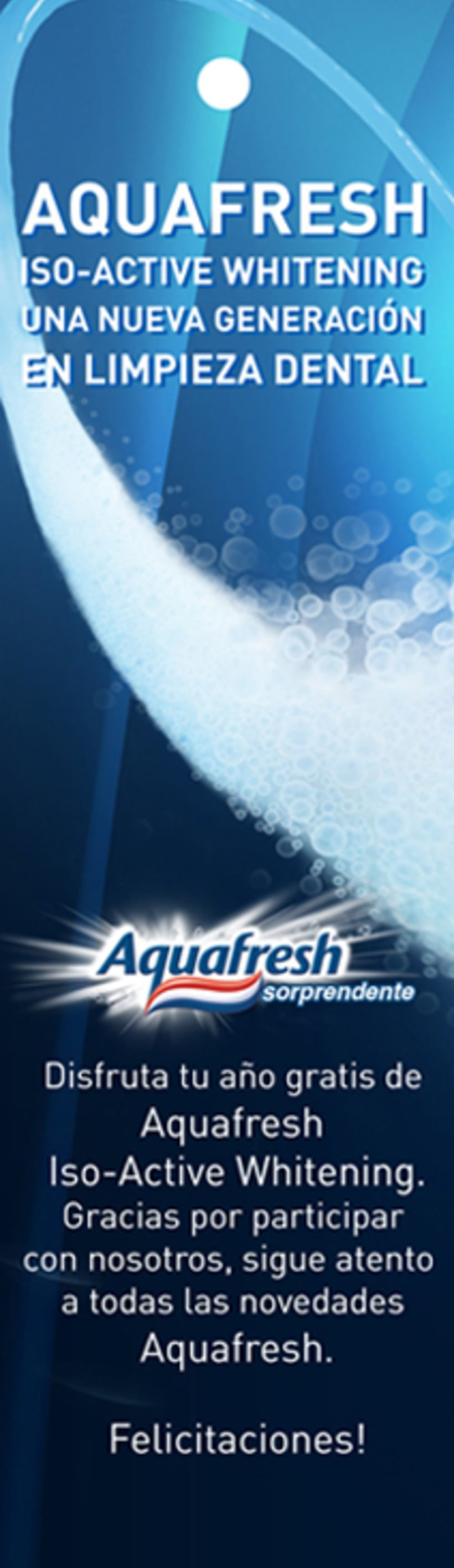 Aquafresh Iso Active Whitening 4