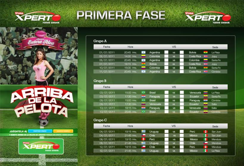 Fixture Copa América 2011 3