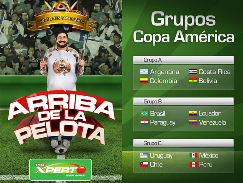Fixture Copa América 2011 4