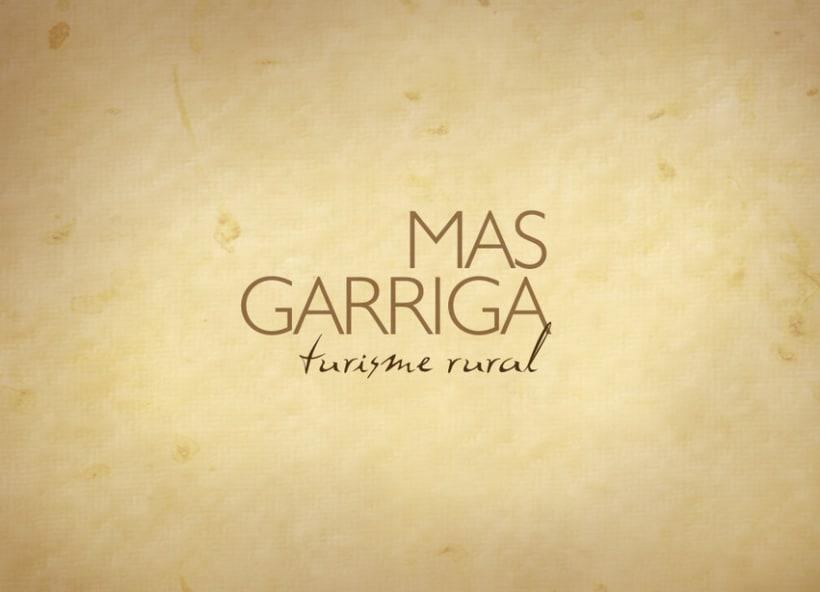 Mas Garriga, turismo rural 1