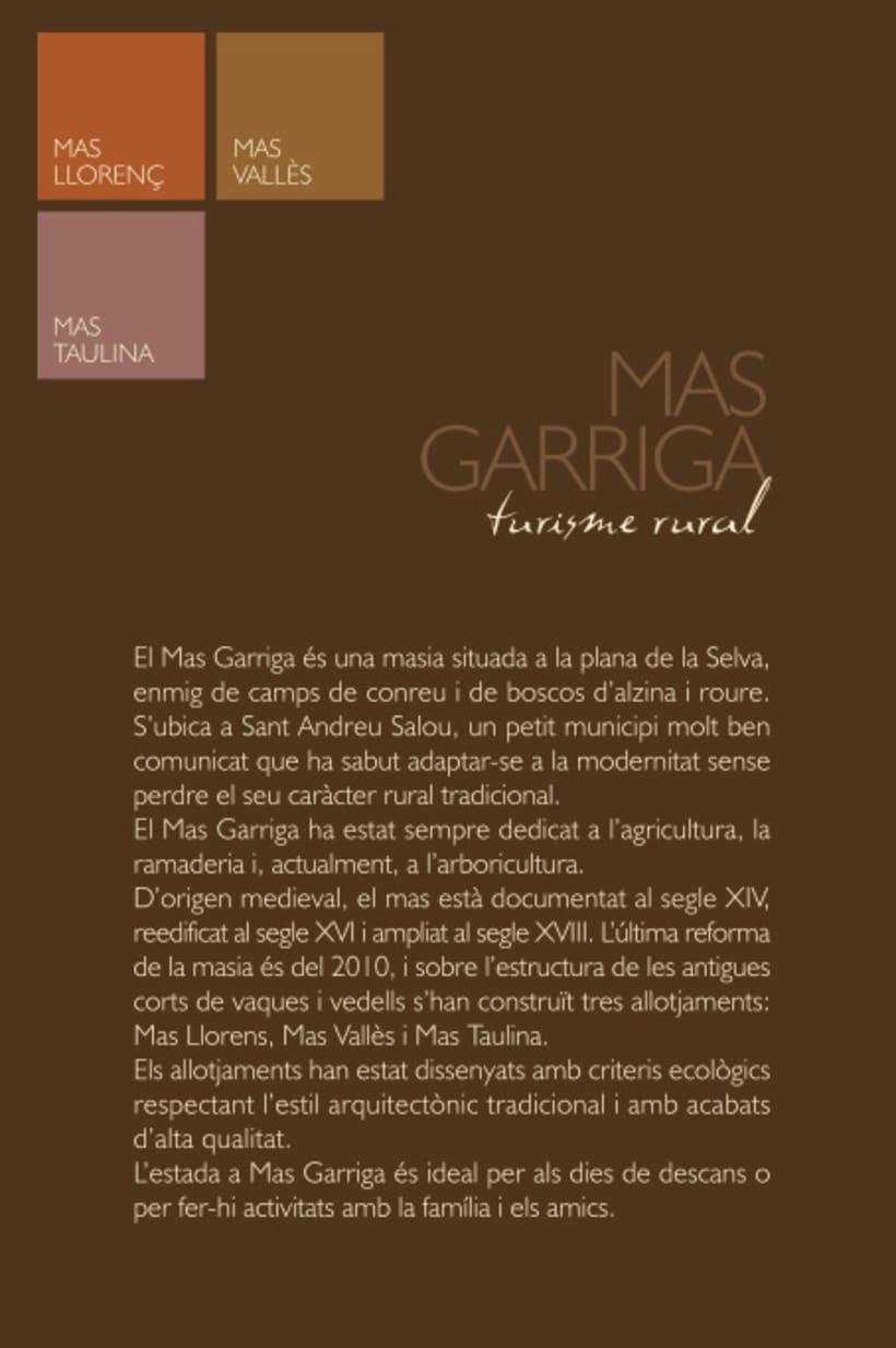 Mas Garriga, turismo rural 6