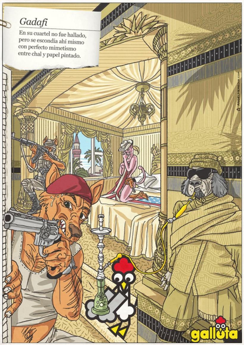 GALLOTA. Humor gráfico y rimas de arte menor. 36