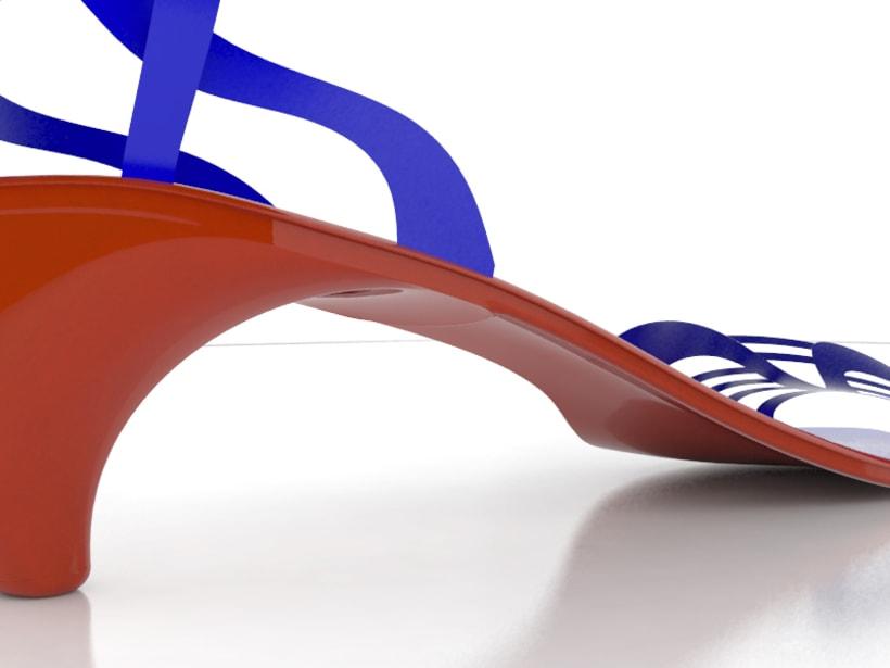 Modelado de calzado 5