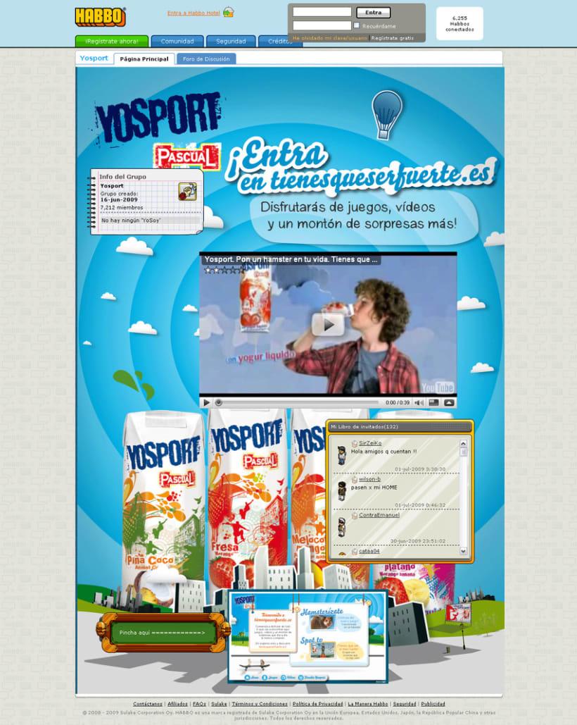 Yosport - Tienes que ser fuerte 4
