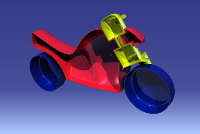Modelado de correpasillos 9