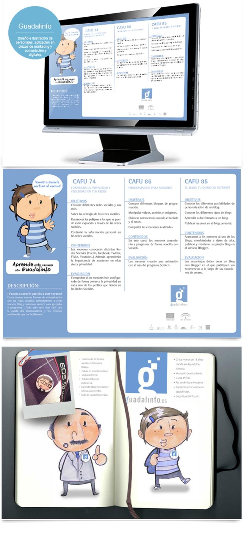Diseño y creación de personajes 2