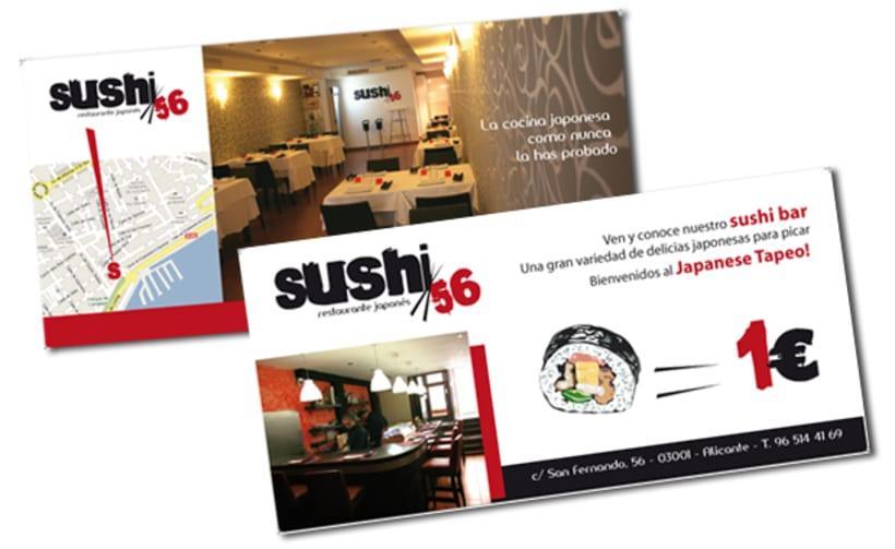 Imagen corporativa. Sushi 56 5