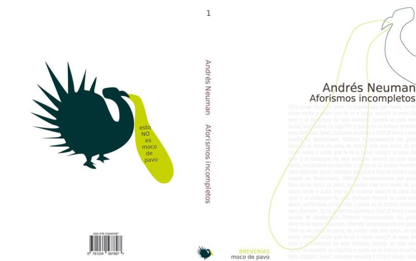 Propuesta Gráfica para Editorial MOCO DE PAVO 3