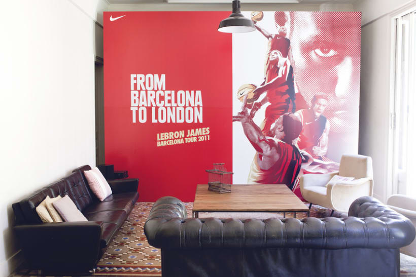 From Barcelona to London LeBron James 2011 4