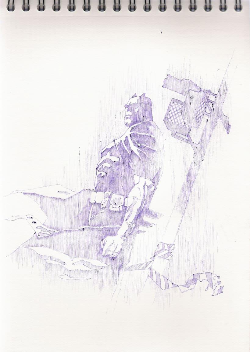Ilustraciones con bolígrafo (1º Fase) 25