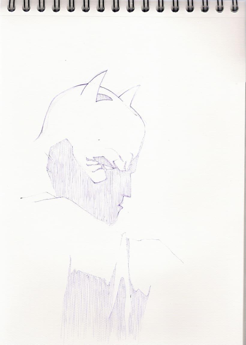 Ilustraciones con bolígrafo (1º Fase) 24