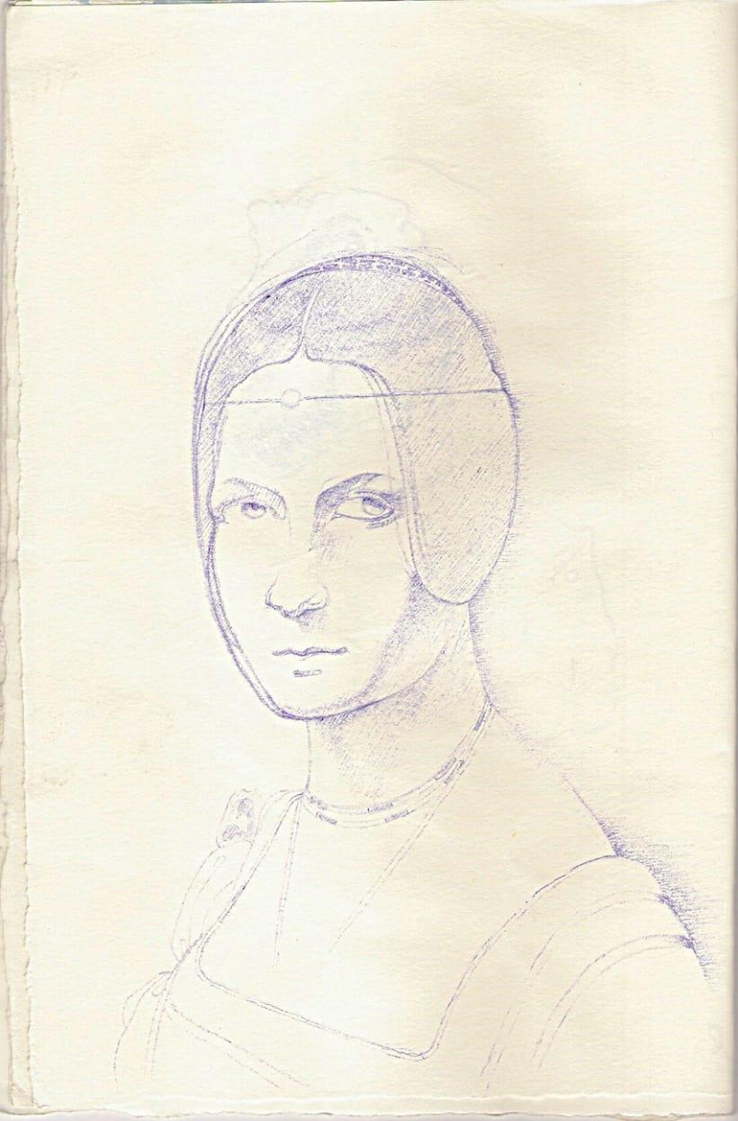 Ilustraciones con bolígrafo (1º Fase) 18