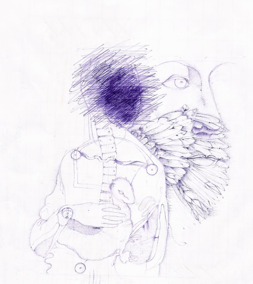 Ilustraciones con bolígrafo (1º Fase) 16