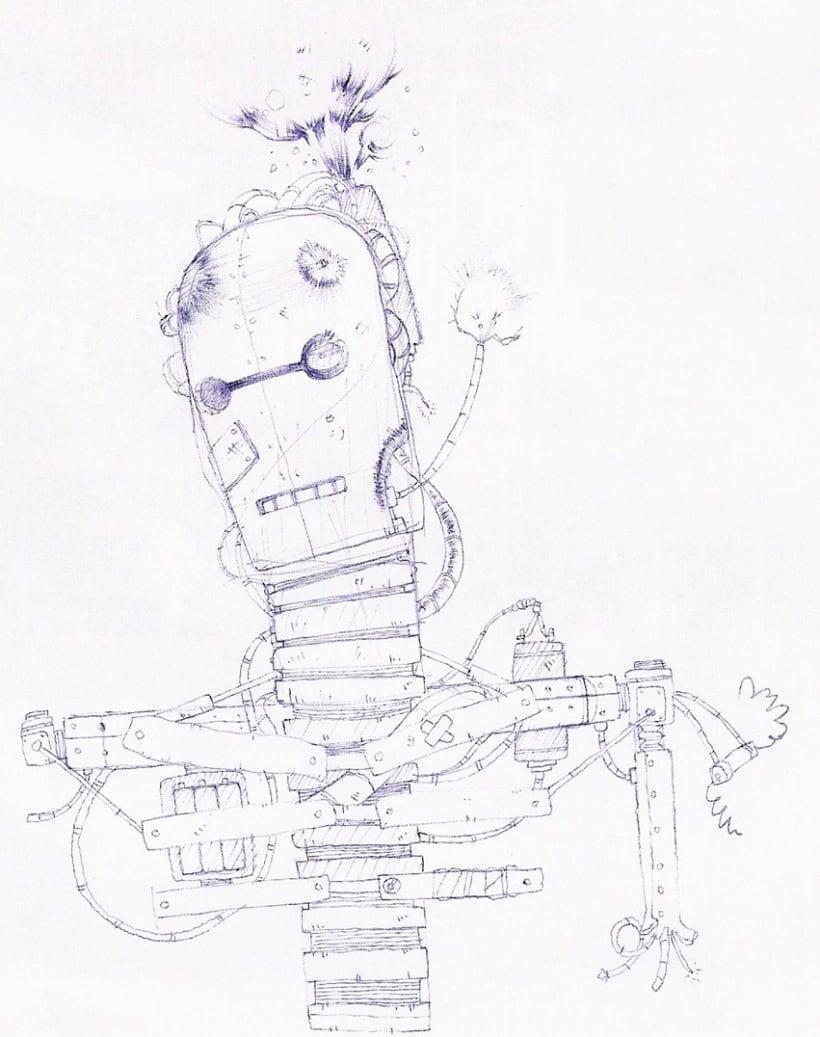 Ilustraciones con bolígrafo (1º Fase) 8