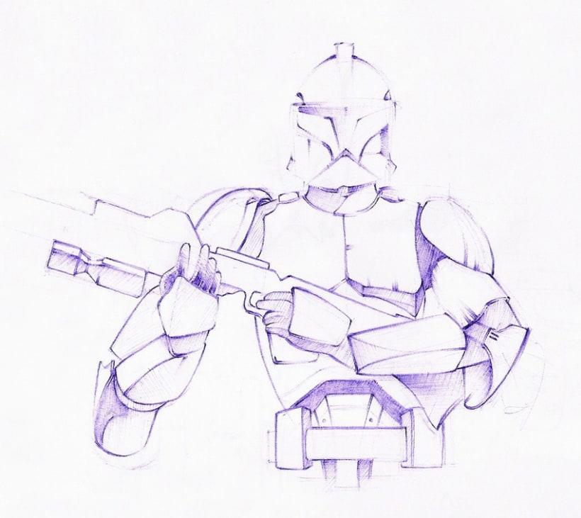 Ilustraciones con bolígrafo (1º Fase) 7