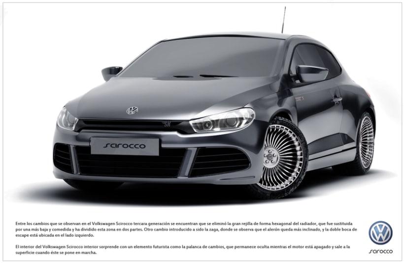 Volkswagen Scirocco 3D 2