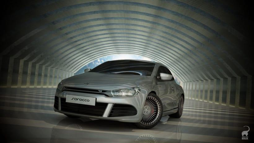 Volkswagen Scirocco 3D 1