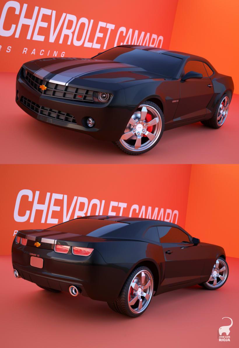 CHEVROLET CAMARO 3D 1