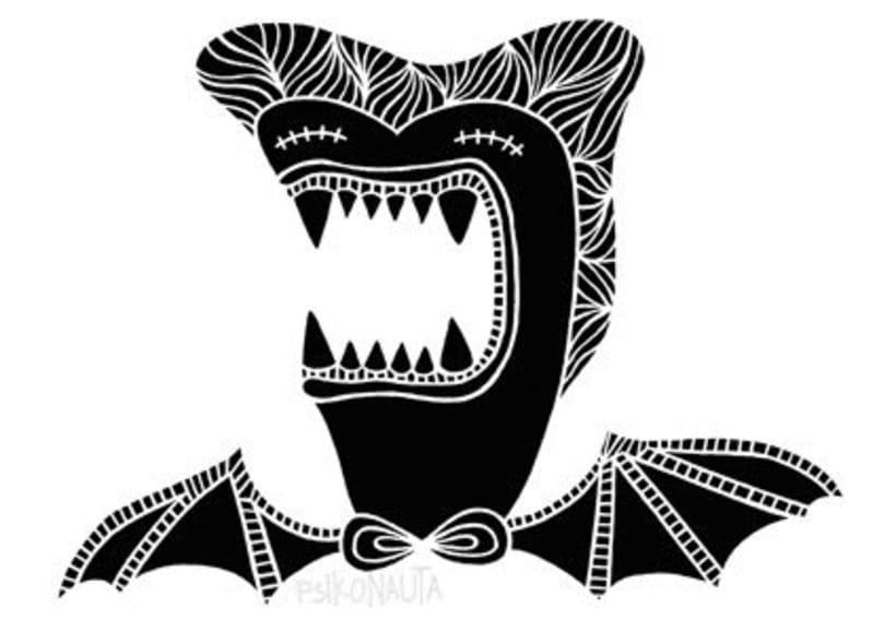 """Ilustraciones: """"Mounstruos y otros seres"""" 4"""