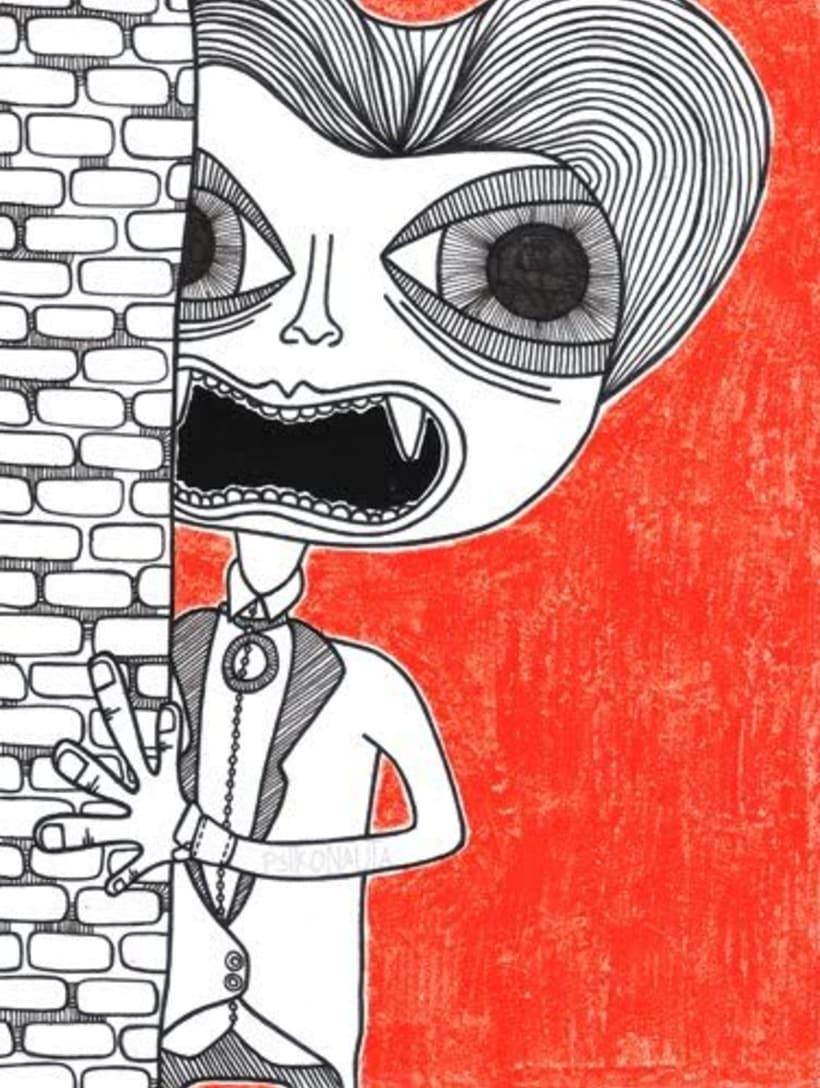 """Ilustraciones: """"Mounstruos y otros seres"""" 8"""