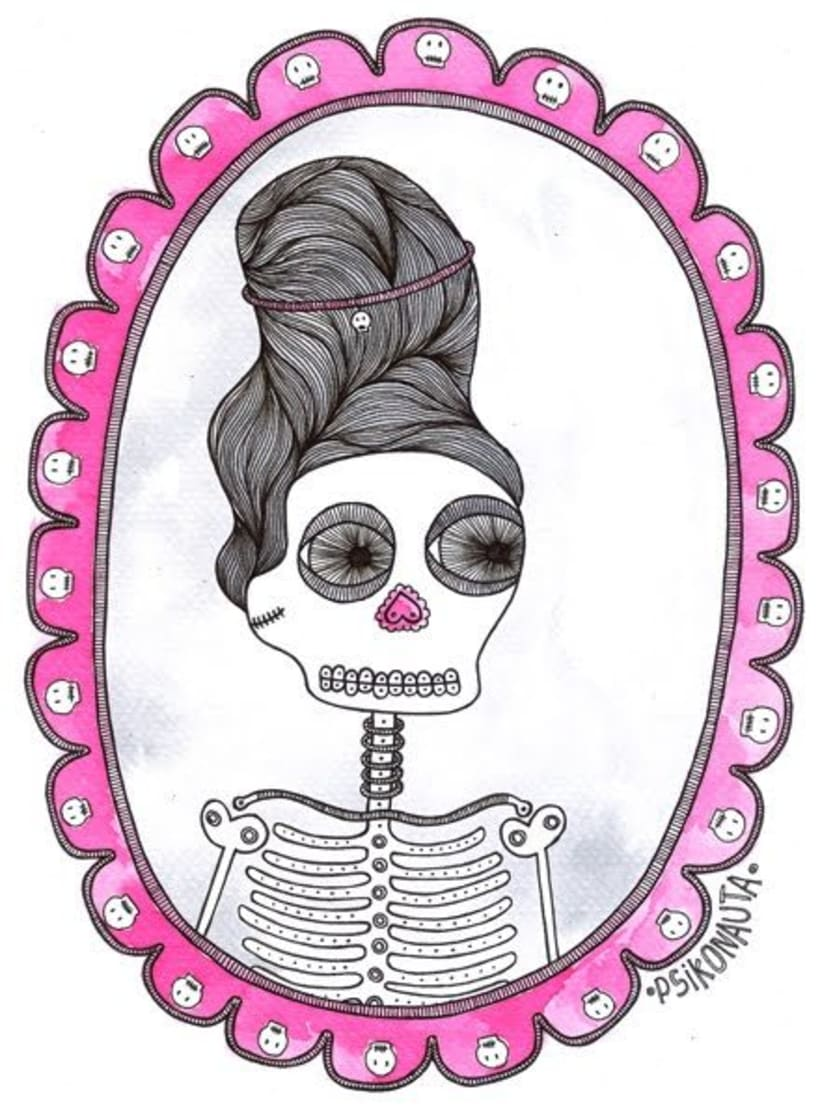 """Ilustraciones: """"Mounstruos y otros seres"""" 14"""