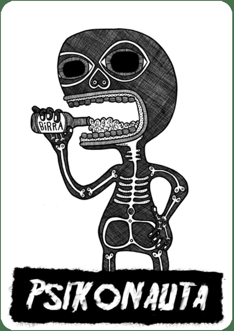 """Ilustraciones: """"Mounstruos y otros seres"""" 16"""